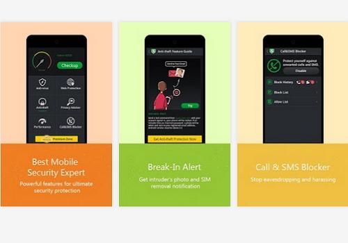 Capture d'écran AirCover Security Android