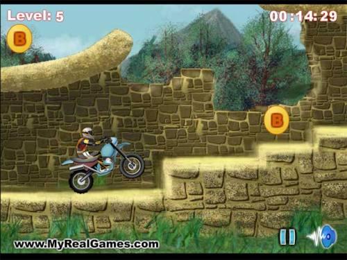 Capture d'écran Nuclear Bike