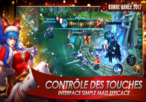 Capture d'écran Mobile Legends iOS