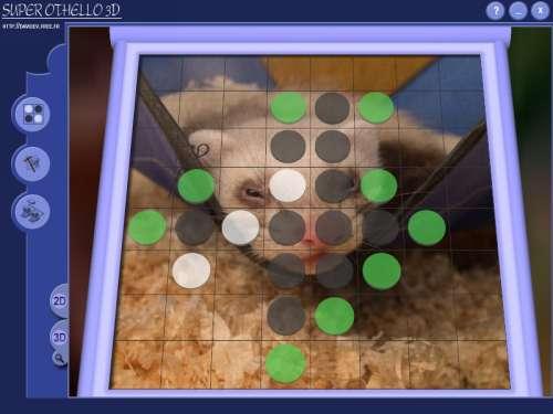 Capture d'écran Super Othello 3D