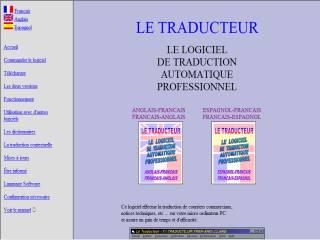 Capture d'écran Le Traducteur Français-Espagnol Espagnol-Français