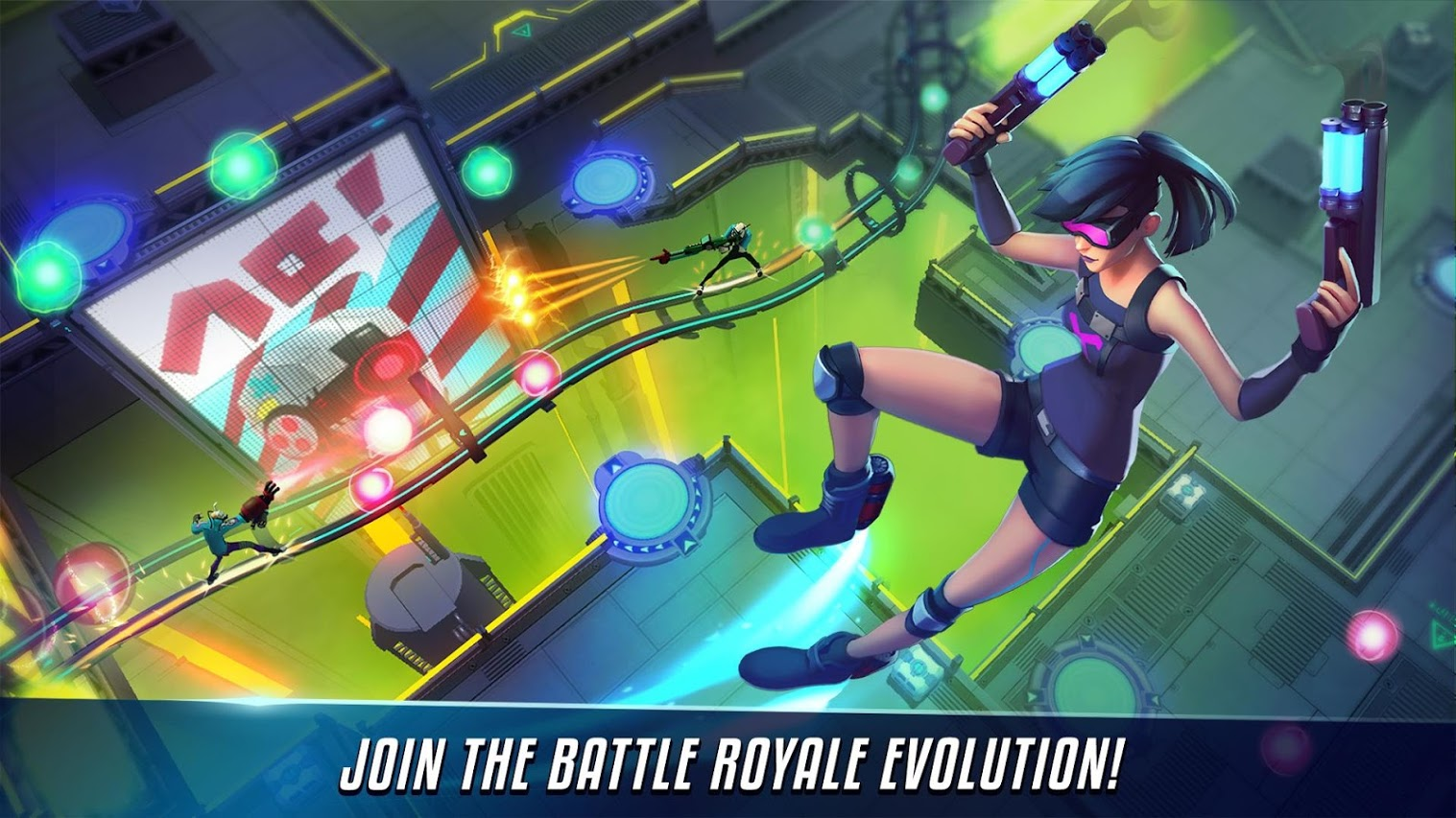 Capture d'écran Royale Rising: Battle Royale Evolved