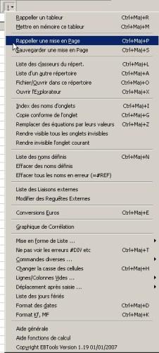Capture d'écran EBTools