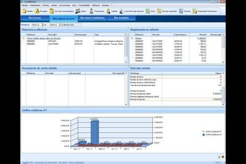 Capture d'écran Ciel Comptes Personnels Standard 2014