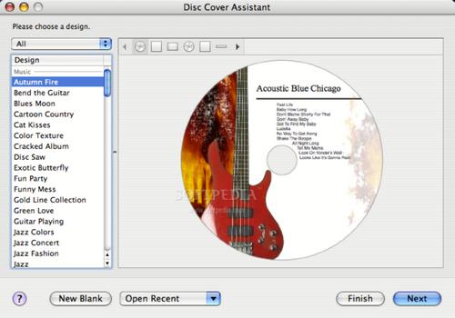 Capture d'écran Disc Cover