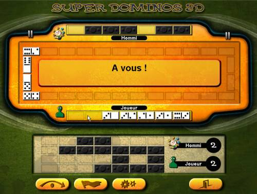 Capture d'écran Dominos