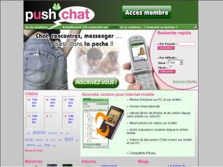 Capture d'écran PushChat