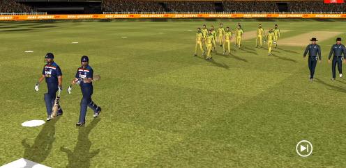 Capture d'écran Real Cricket 21 Android