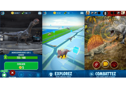 Capture d'écran Jurassic World : Alive Android