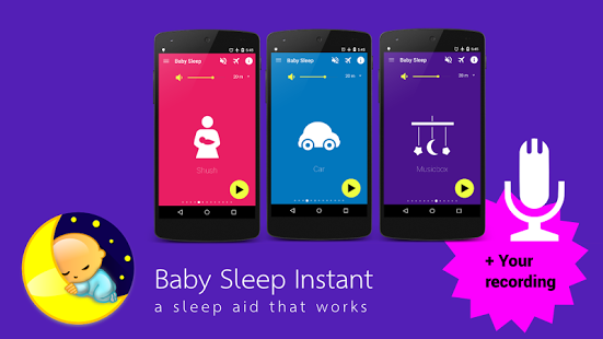 Capture d'écran Baby Sleep Unlock