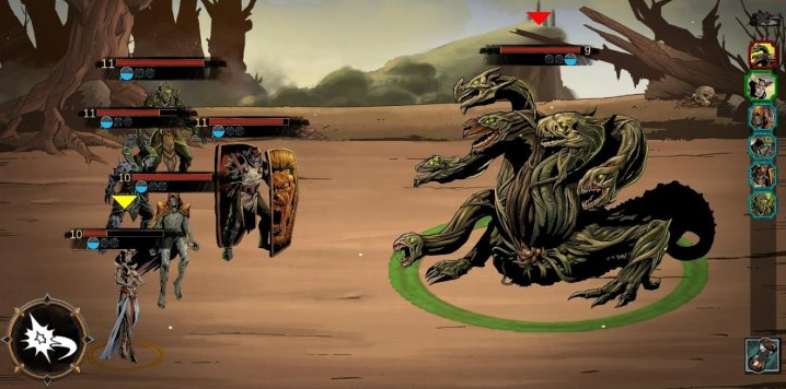 Capture d'écran Lazara Battle Heroes Android