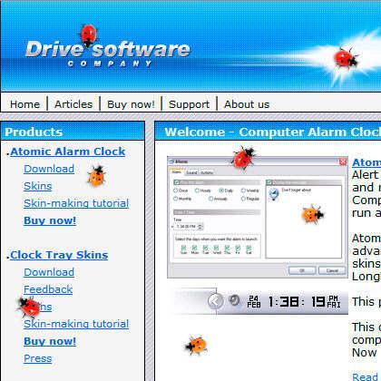Capture d'écran Ladybug on Desktop