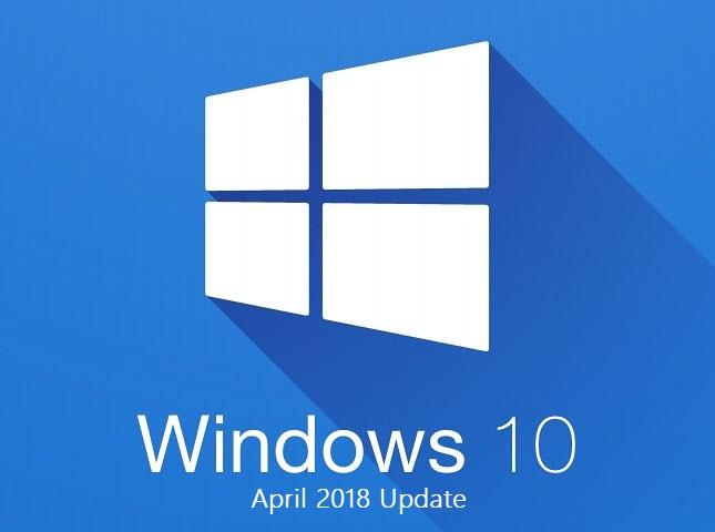 Capture d'écran Iso de Windows 10 Spring Creators Update