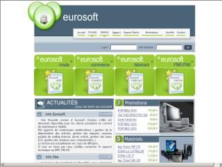 Capture d'écran EUROSOFT