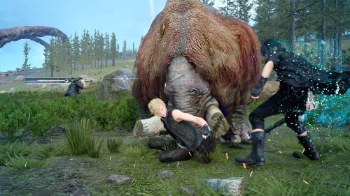 Capture d'écran Final Fantasy XV Windows Edition