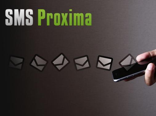 Capture d'écran SMS Proxima