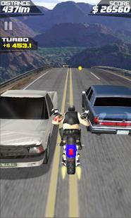 Capture d'écran MEGA MOTO RACING 3D
