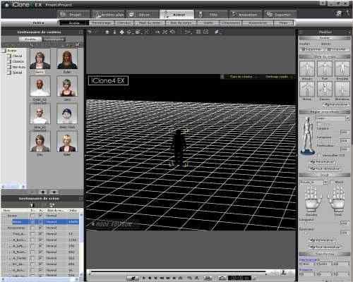 Capture d'écran iClone 5 Pro