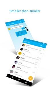 Capture d'écran ZERO Communication (SMS)