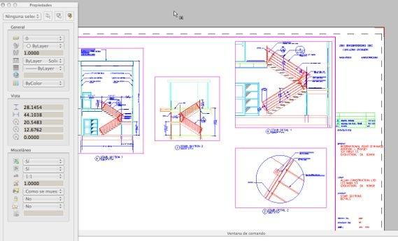 Capture d'écran Draftsight Mac