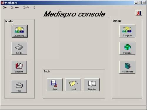 Capture d'écran Médiapro