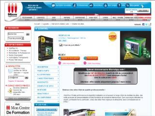 Capture d'écran WebPlus X5