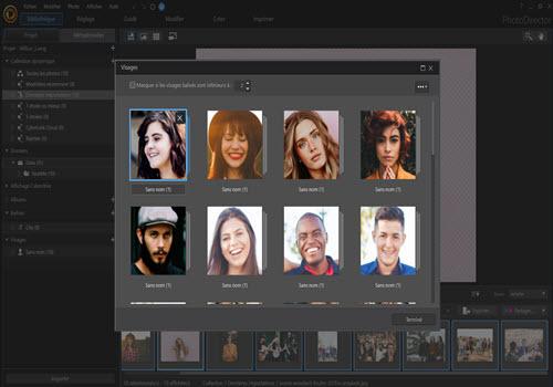 Capture d'écran PhotoDirector 9 Mac