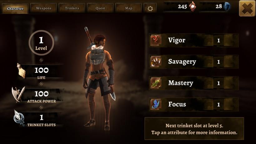 Capture d'écran Grimvalor Android