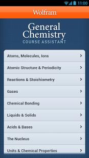 Capture d'écran General Chemistry Course App