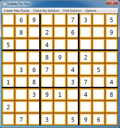 Capture d'écran Sudoku For You