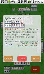 Capture d'écran Mahjong and Friends