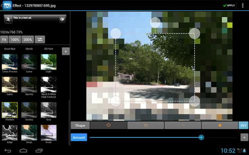 Capture d'écran Photo Editor