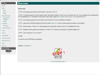 Capture d'écran ScanMailBox