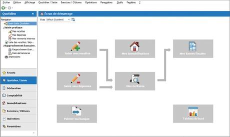 Capture d'écran EBP Compta Libérale Dynamic 2020
