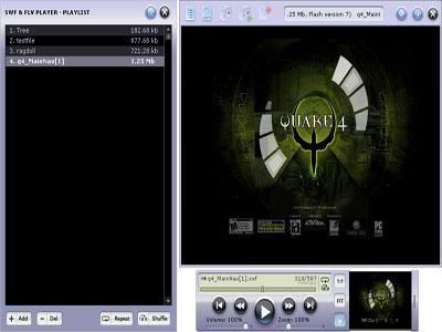 Capture d'écran Eltima Flash Player