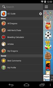 Capture d'écran Breeding Guide for Dragon City
