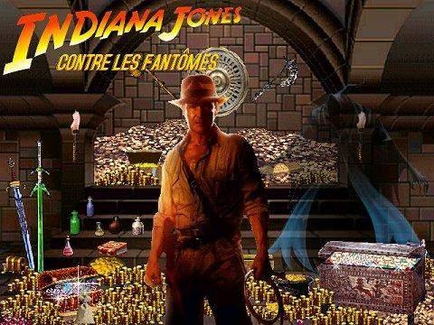 Capture d'écran INDIANA JONES CONTRE LES FANTÔMES