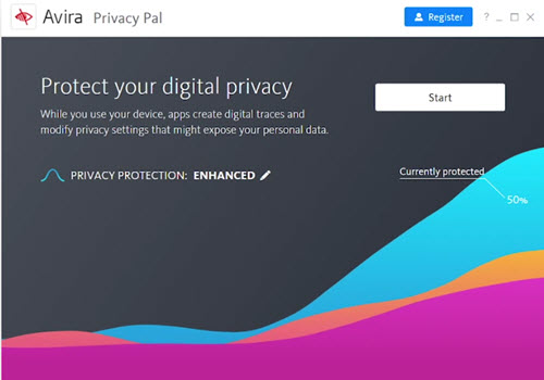 Capture d'écran Avira Privacy Pal