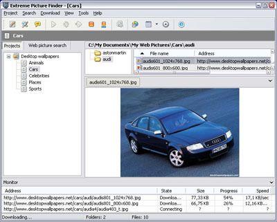 Capture d'écran Extreme Picture Finder