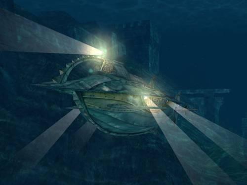 Capture d'écran Nautilus 3D Screensaver