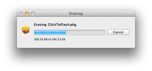 Capture d'écran Permanent Eraser Mac
