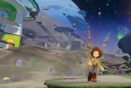 Capture d'écran Disney Infinity
