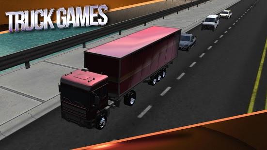 Capture d'écran Légende Truck Simulator 3D