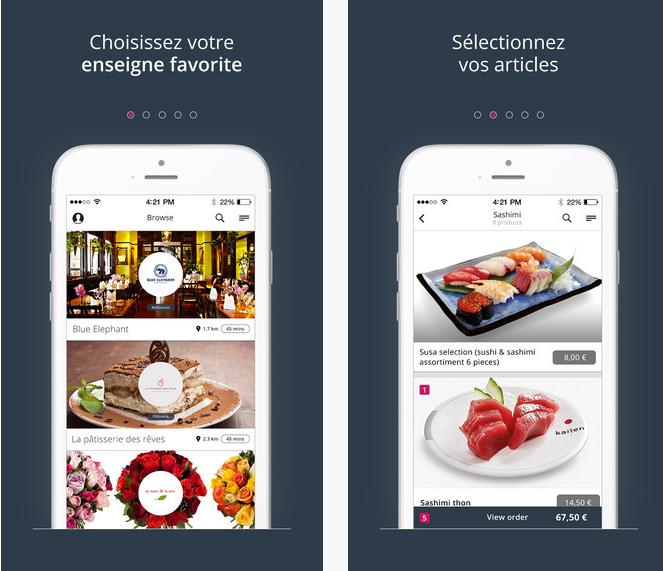 Capture d'écran Resto-in Android