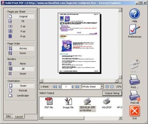 Capture d'écran Solid pdf creator