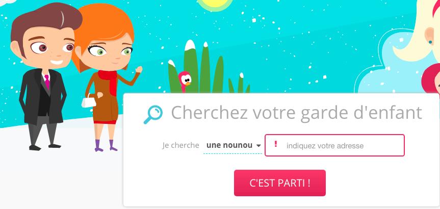 Capture d'écran Nounou-top