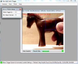 Capture d'écran Cats Eyes WebCam Alarm Trigger FREE