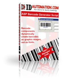 Capture d'écran ASP Barcode Generator Script