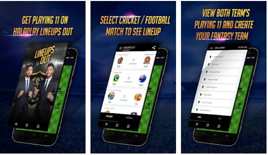 Capture d'écran Lineups Out Android