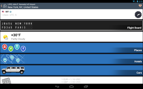 Capture d'écran Airline Flight Status Tracker